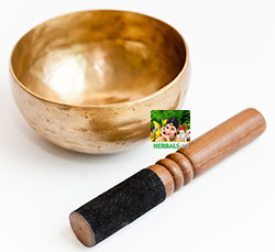 Tibetan singing bowls Herbals photo by Artmif