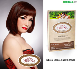 INDIAN HENNA DARK BROWN