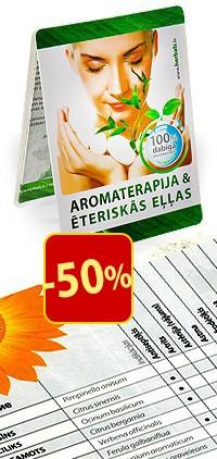 Brošūra AROMATERAPIJA (LV) AKCIJA -50%